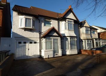 Thumbnail 5 bed semi-detached house for sale in Tetley Road, Sparkhill, Birmingham, West Midlands