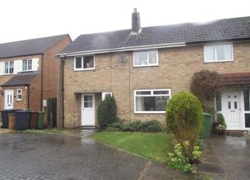 Thumbnail 3 bed terraced house to rent in Greetwell Close, Lincoln