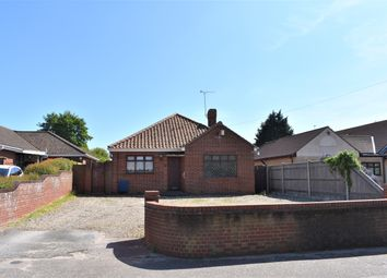 Thumbnail 4 bed detached bungalow for sale in Long Lane, Bradwell, Great Yarmouth