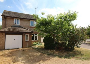 Thumbnail 3 bed detached house for sale in Caldbeck Close, Peterborough