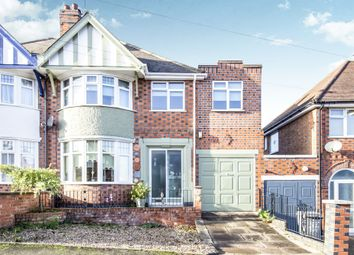 Thumbnail 4 bed semi-detached house for sale in Ainsdale Road, Western Park, Leicester