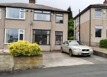 Thumbnail 3 bed semi-detached house for sale in Beech Road, Low Moor, Bradford