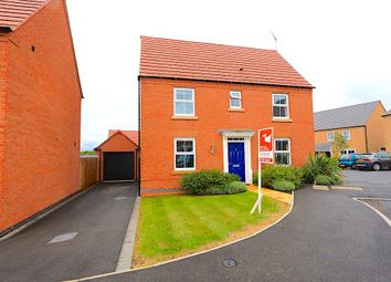 Thumbnail 3 bedroom detached house for sale in Knight Close, Leicester Forest East, Leicester