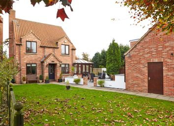 Thumbnail 4 bed detached house for sale in Landing Lane, Hemingbrough, Selby, North Yorkshire