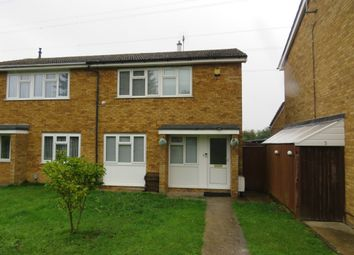 Thumbnail Semi-detached house for sale in Therfield Walk, Houghton Regis, Dunstable