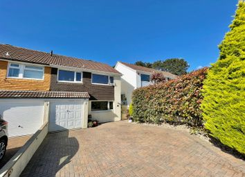 Thumbnail 3 bed semi-detached house for sale in Goswela Gardens, Plymstock, Plymouth