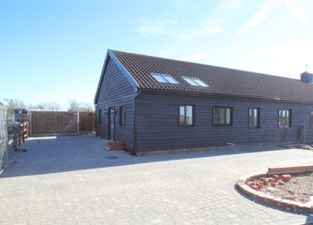 Thumbnail 3 bed barn conversion for sale in Tannery Road, Combs, Stowmarket, Suffolk