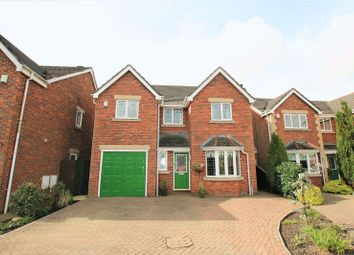 Thumbnail 5 bed detached house for sale in Longton Hall Court, Chapel Lane, Longton, Preston