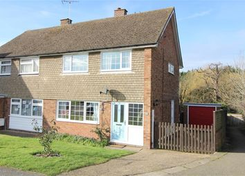 Church View, Biddenden, Ashford TN27. 3 bed semi-detached house for sale