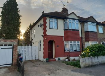 Thumbnail 3 bed semi-detached house for sale in Gould Road, Feltham