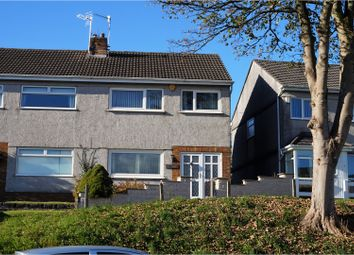 Thumbnail 3 bed semi-detached house for sale in Llangyfelach Road, Treboeth