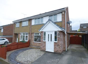 Thumbnail 3 bed semi-detached house for sale in Bay Court, Killamarsh, Sheffield