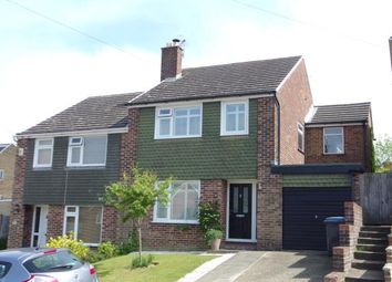 Thumbnail 4 bed semi-detached house for sale in Lyndhurst Road, River, Dover, Kent