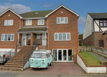 Thumbnail 4 bed semi-detached house for sale in Beresford Road, Newhaven