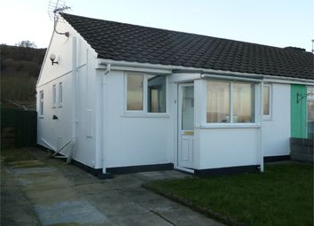 Thumbnail 1 bed semi-detached bungalow for sale in 4 Seaview Crescent, Goodwick, Pembrokeshire
