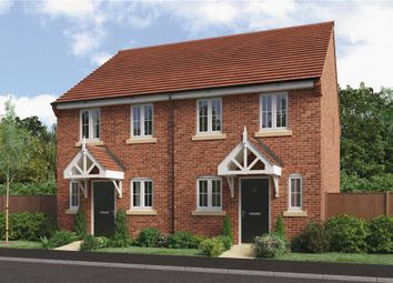"Thumbnail 2 bed mews house for sale in ""Ashford"" at Park Lane, Castle Donington, Derby"