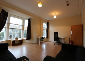 Thumbnail 4 bedroom flat to rent in Oakfield Street, Roath, Cardiff