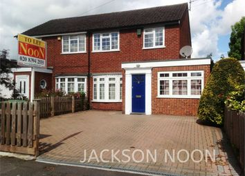 Plough Road, West Ewell, Epsom KT19. 3 bed semi-detached house