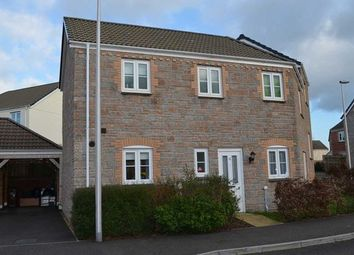Thumbnail 3 bed semi-detached house to rent in Raleigh Drive, Cullompton