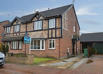 Thumbnail 4 bed semi-detached house for sale in Ashdene Close, Willerby, Hull
