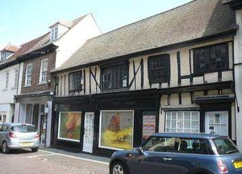 Thumbnail Retail premises for sale in High Street, Royston