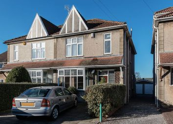 Thumbnail 4 bedroom semi-detached house for sale in Abbey Road, Westbury-On-Trym, Bristol