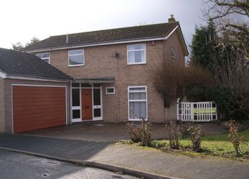 Thumbnail 5 bed detached house to rent in Ladywalk, Longstanton, Cambridge