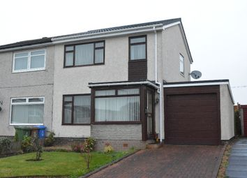 Thumbnail 3 bed semi-detached house for sale in Innerpeffray Drive, Carron, Falkirk