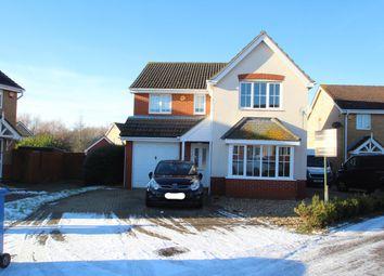 Thumbnail 4 bedroom detached house for sale in Jaguar Close, Ipswich