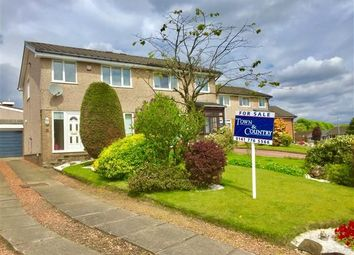 Thumbnail 3 bed semi-detached house for sale in Rosehill Road, Torrance, Glasgow