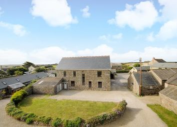 Thumbnail 4 bed detached house for sale in Trevescan Farm, Sennen, Penzance, Cornwall