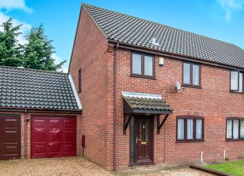 Thumbnail 3 bed semi-detached house for sale in Fengate Drove, Weeting, Brandon