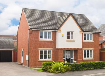 "Thumbnail 4 bed detached house for sale in ""Winstone"" at Cheriton Close, Connah's Quay, Deeside"