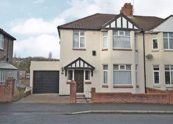 Thumbnail 3 bedroom semi-detached house for sale in Period Semi-Detached House, Queens Hill Crescent, Newport