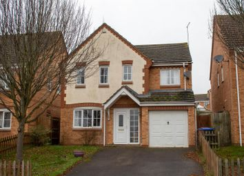 Thumbnail 4 bed detached house for sale in Preston Drive, Lang Farm, Daventry