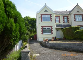 Thumbnail 4 bed semi-detached house for sale in Grenig Road, Glanamman, Ammanford, Carmarthenshire.