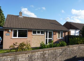 Thumbnail 2 bed detached bungalow to rent in 20 Caernarvon Drive, Dronfield