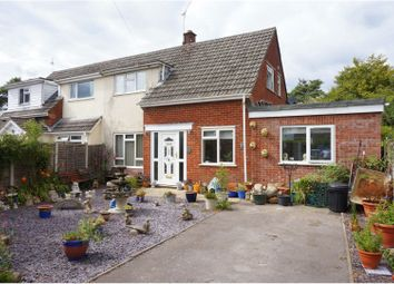 Thumbnail 3 bed semi-detached house for sale in Keppel Close, Ringwood