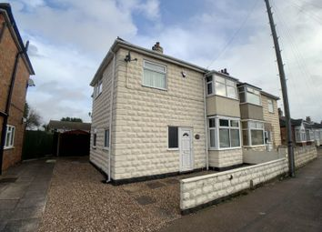 Thumbnail 3 bed semi-detached house for sale in Central Avenue, Syston, Leicestershire