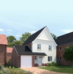 Thumbnail 3 bed detached house for sale in Oaks Lea, Acle, Norwich
