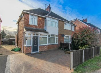 Thumbnail 3 bed semi-detached house for sale in St. Catherines Crescent, Whitnash, Leamington Spa