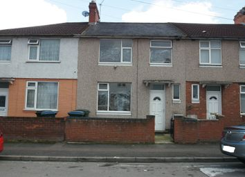 Thumbnail 3 bedroom terraced house to rent in Elmsdale Avenue, Coventry