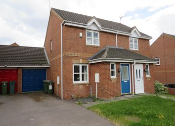 Thumbnail 2 bed property to rent in Impey Close, Thorpe Astley, Leicester