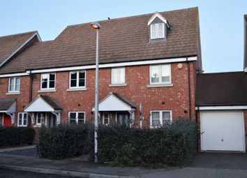 Thumbnail 4 bed end terrace house for sale in Eglington Drive, Rochester