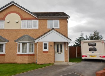 Thumbnail 3 bed semi-detached house for sale in Tudor Court, Rhostyllen, Wrexham