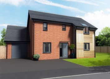 Thumbnail 3 bedroom detached house for sale in Whooper Close, Long Stratton, Norwich