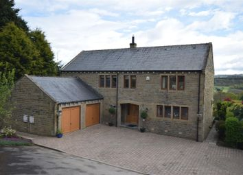 Thumbnail 5 bed detached house for sale in Hill Top, Scar Bottom Lane, Greetland