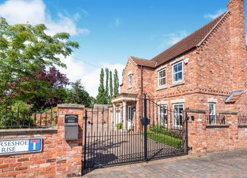 Thumbnail 4 bed detached house for sale in Horseshoe Rise, Walkeringham, Doncaster