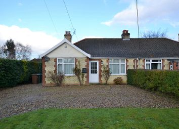Thumbnail 2 bedroom semi-detached bungalow for sale in Dereham Road, Mattishall, Dereham, Norfolk.