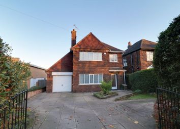 Thumbnail 3 bed detached house for sale in Ashby Road, Scunthorpe